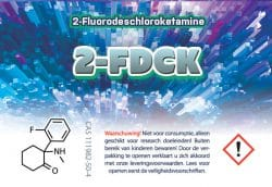 2-FDCK Research Chemicals bij HomeChemistry.nl