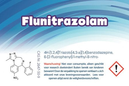 Flunitrazolam | Research Chemicals | Homechemistry.nl